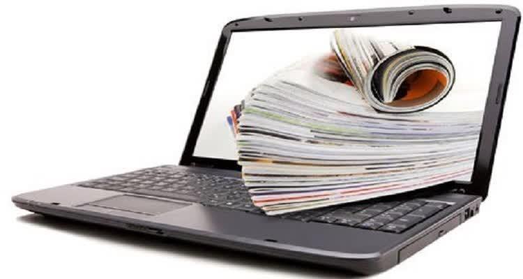 Компьютер с выступающими материалами из экрана