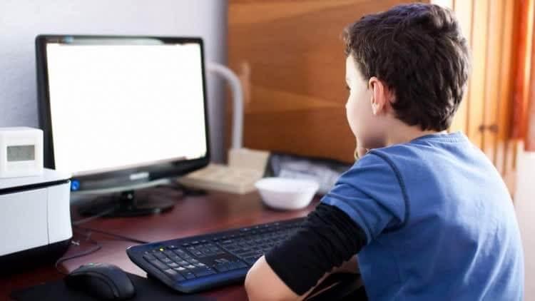 Школьник зарабатывает в интернете на дому