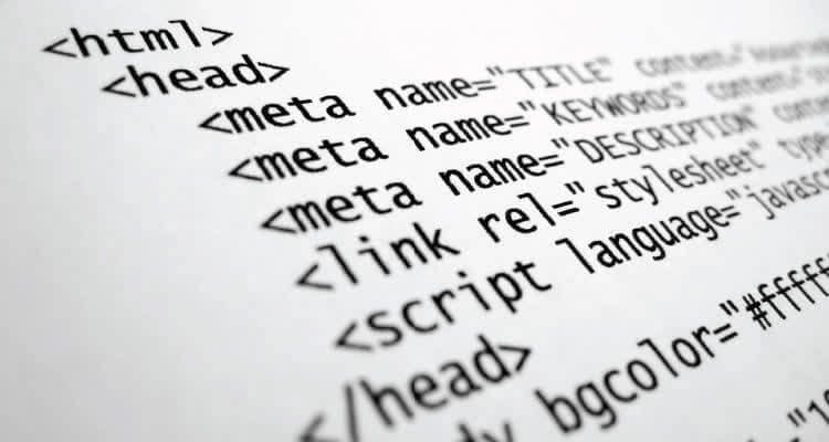 Компьютерный код на странице